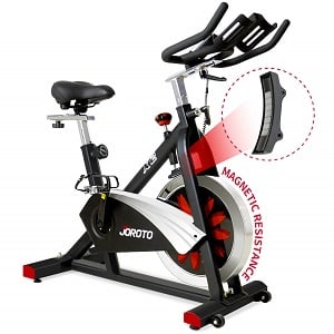 JOROTO Belt Drive Indoor Cycling Bike with Magnetic Resistance X2