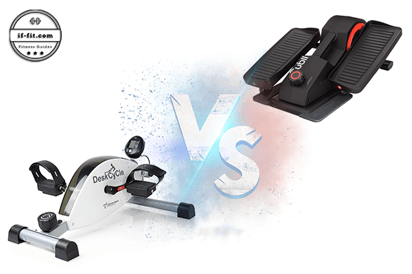 Under Desk Bike versus Under Desk Elliptical