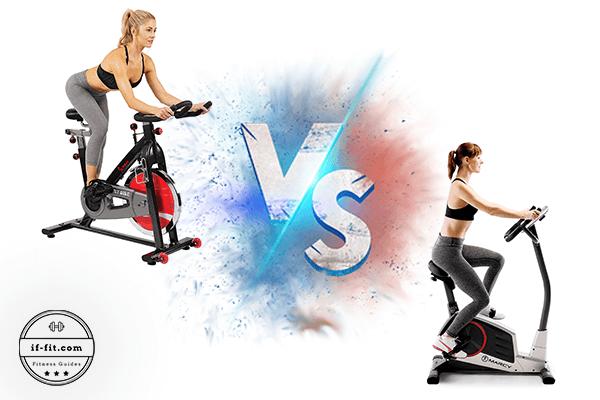 Spin versus Upright/ Stationary Bike