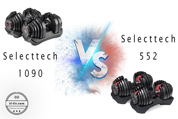 Bowflex Selecttech 1090 vs 552: A Detailed Comparison 2