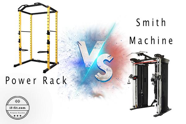 Power Rack vs Smith machine featured image