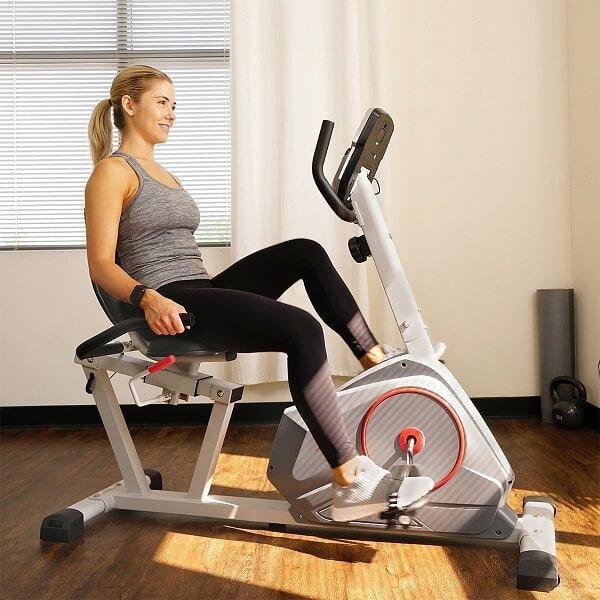 sunny-health-magnetic-recumbent-exercise-bike