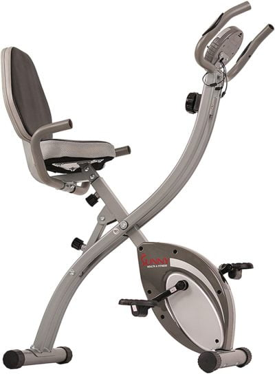 Sunny Health & Fitness Folding Exercise Bike SF-B2721