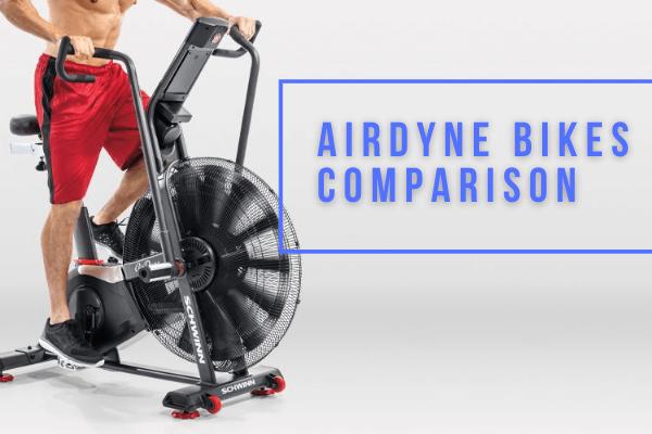 Airdyne Bike Model Comparison - Features, Specs & Reviews 2