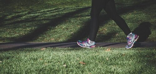 jogging after leg workout