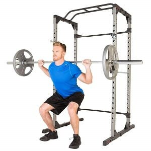 A man using Fitness Reality 810XLT