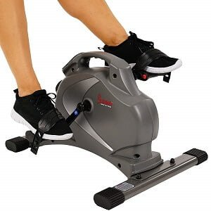 Sunny Health & Fitness SF-B0418 under desk pedal exerciser
