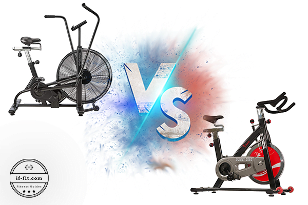 Air Bike versus Spin Bike Featured Image