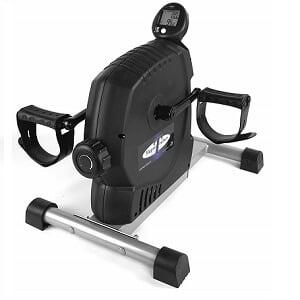 magne-trainer under desk bike with Arm and Leg Exerciser